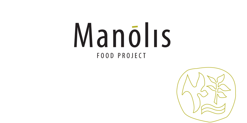 Manolis food project logo